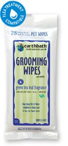 earthbath Grooming Wipes Green Tea 28ct