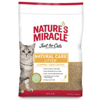 Natures Miracle Just for Cats Corn Cob Cat Litter 18lb