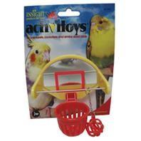 JW Pet Activitoy Birdie Basketball