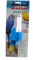 JW Pet Insight Clean Seed Silo Bird Feeder