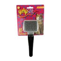 JW Pet GripSoft Cat Slicker Brush Small