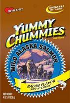 Arctic Paws 4-Ounce Salmon & Bacon Flavor Soft & Chewy Yummy Chummies