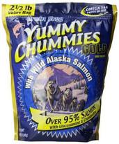 Arctic Paws Yummy Chummies Gold 95% Salmon Bulk Treats With Glucosamine & Chondroitin