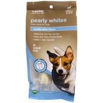 N-Bone Pearly Whites Chew Bone Vanilla Mint flavor Small size for 5-12 lb dogs 2pk