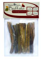 Canine Caviar Buffalo Bully Stix Bag 7pc 6in