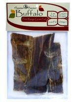Canine Caviar Buffalo Jerky Flat Bag 3pc 6in
