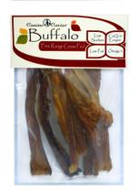 Canine Caviar Buffalo Flossies Bag 5pc 6in