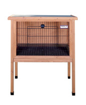Precision Rabbit Shack Rabbit Hutch Medium 36X24X41