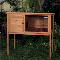 Precision Rabbit Shack Extreme Rabbit Hutch Large 48X24X46