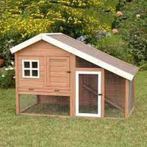 Precision Cape Cod Chicken Coop Rabbit Hutch 62x32x42
