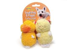 Booda Terry Duck Pig Small 2pk