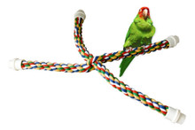 Booda Comfy Perch Cross Multicolor Small 25in