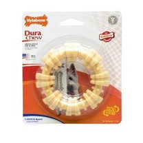 Nylabone DuraChew Textured Ring Chicken Blister Card Regular