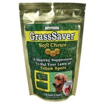 NaturVet GrassSaver Soft Chews with Cranberry & Enzymes 120ct