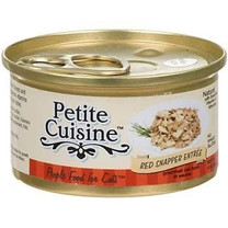Petite Cuisine Red Snapper Entree Canned Cat Food 3oz
