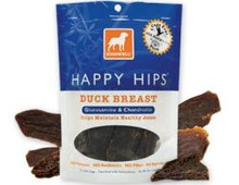 DOGSWELL HAPPY HIPS Duck Breast with Gluosmine & Chondroitin 5oz