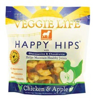 DOGSWELL VEGGIE LIFE HAPPY HIPS Chicken & Apple with Gluosmine & Chondroitin 15oz