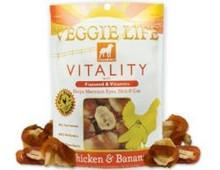 DOGSWELL VEGGIE LIFE VITALITY Chicken & Banana with Flaxseed & Vitamins 15oz