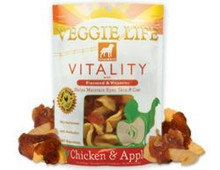 DOGSWELL VEGGIE LIFE VITALITY Chicken & Apple with Flaxseed & Vitamins 15oz