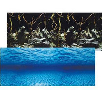 Seascape Double Sided Aquarium Background - 24 in. High - (Sold by foot)