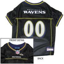 Baltimore Ravens NFL Dog Jersey - Large