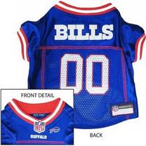 Buffalo Bills NFL Dog Jersey - Medium