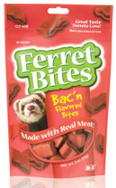 8 in 1 Ferret Bites Bac'n Bites 3oz