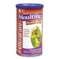 8 in 1 Ecotrition Moulting Health Blend for Parakeets 8oz