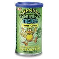 8 in 1 Kookamunga Krunchie Kravings Catnip Treats Chicken 5oz