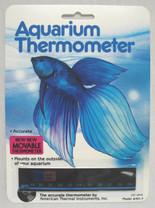 American Thermal Liquid Crystal Aquarium Thermometer Horizontal