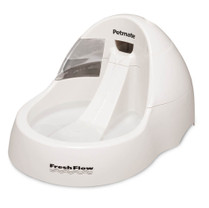 Aspen Pet Cool Flow Pet Fountain White Medium