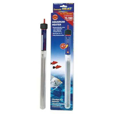 Penn Plax Cascade Preset Submersible Aquarium Heater, 100-Watt