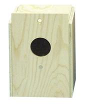 Bird Brainers Parakeet Nesting Box External Mounting