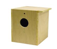 Bird Brainers Parakeet Nesting Box Inside Outside Mounting