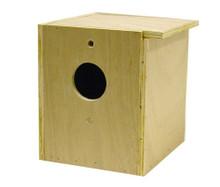 Bird Brainers LoveBird Nesting Box Inside Outside Mounting