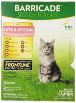 Barricade Spot-On Flea Drops for Cats