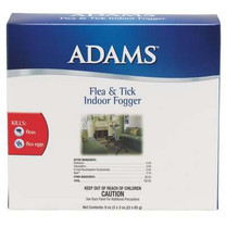 Adams Flea and Tick Indoor Fogger 3ea/3oz