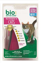 Bio Spot Defense Flea and Tick Spot on for Cats 5-Pound and Over
