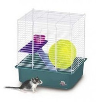 Super Pet Deluxe My First Home Hamster Habita 2-Storyt 4pk