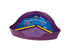 Super Pet Hi-Corner Litter Pan Large