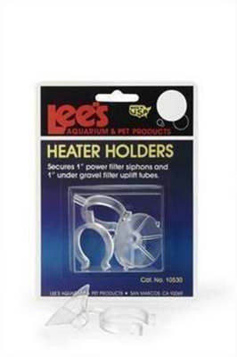 Lee's Pet Products ALE10530 2-Card Heater Holders for Aquarium Pumps