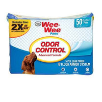 Four Paws Wee Wee Odor Control Pads 22X23 50ct