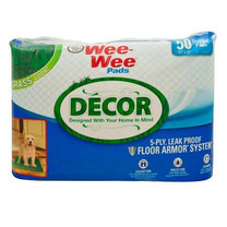 Four Paws Wee Wee Pads Decor Grass 50ct