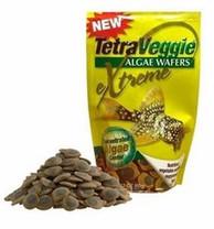 Tetra TetraVeggie Algae Wafers 2-Color Pouch Bag 5.3oz