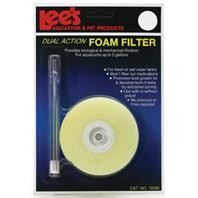 Lee's Round Dual-Action Foam Filter Up to 5gal