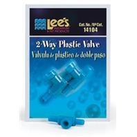 Lee's Two-Way Plastic Valve 2pk