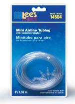 Lee's Mini Airline Tubing 6FT w 4 Connectors