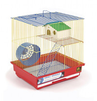 Prevue Pet Products Pre-Packed Two Story Hamster & Gerbil Cages 4 pcs.