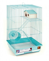 Prevue Pet Products Pre-Packed Three Story Hamster & Gerbil Cages 4 pcs.