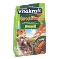 Vitakraft Hamster Mini Carrot Slims 1.76oz